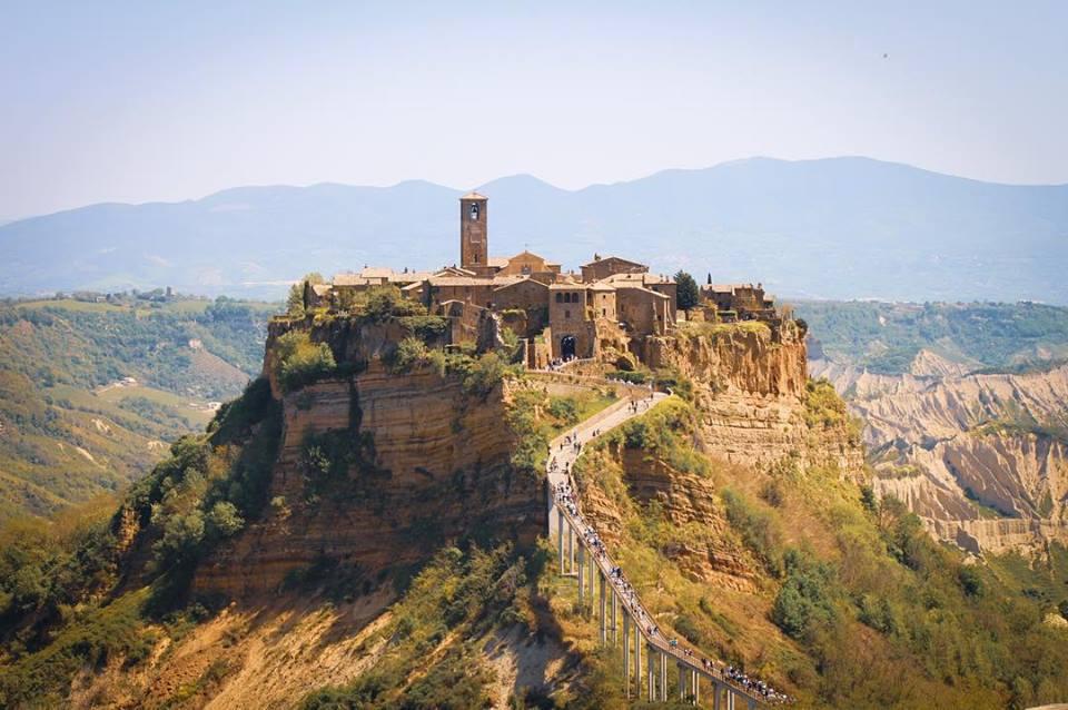 The cursed beauty of Civita di Bagnoregio