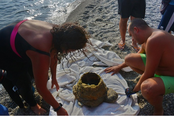 Reggio Calabria: new archaeological discovery in the Ionian Sea