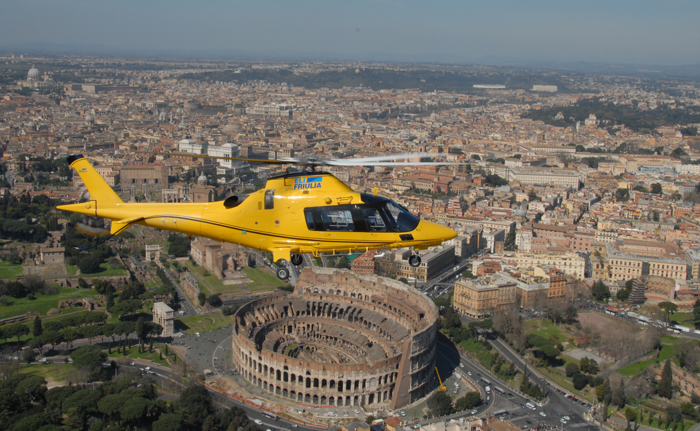 Helicopter Tour - Rome 01