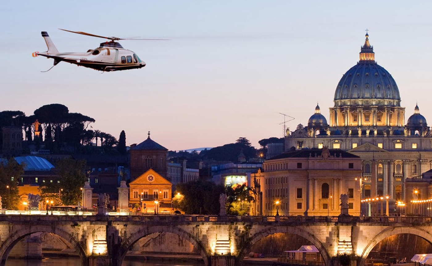 Helicopter Tour - Rome 02