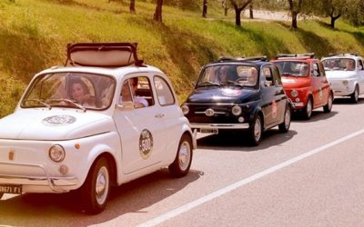 Open vintage car tours to the Chianti castles on the most scenic roads