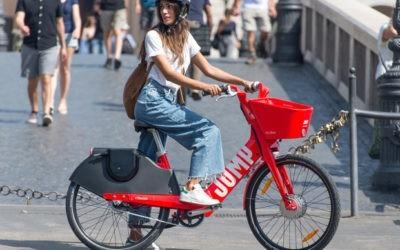 Uber Jump: the electric bike sharing in Rome
