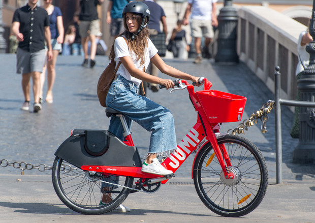 Uber Jump: the electric bike sharing in Rome