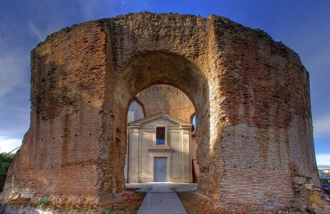 Rome: the mausoleum of Sant'Elena reopens in the Torpignattara district
