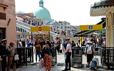 Entrance fee in Venice from July 2020