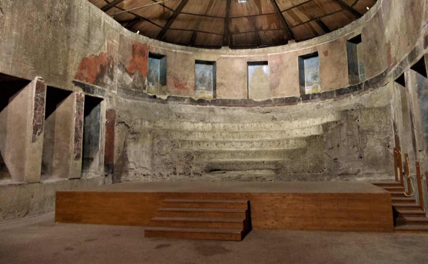 Auditorium of Mecenate – Underground Rome 03-min