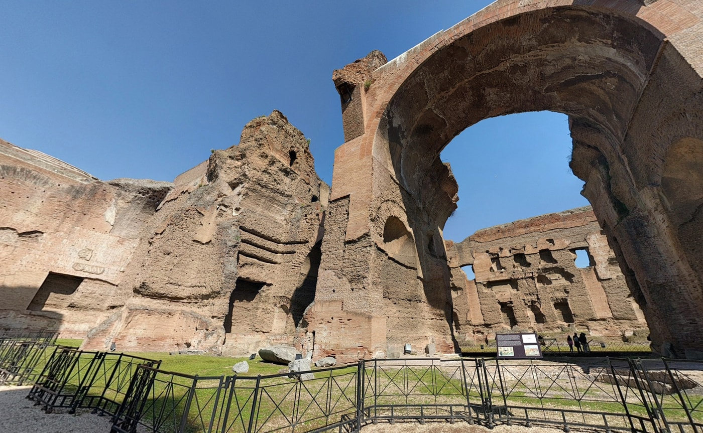 Baths of Caracalla Tour – Rome 02