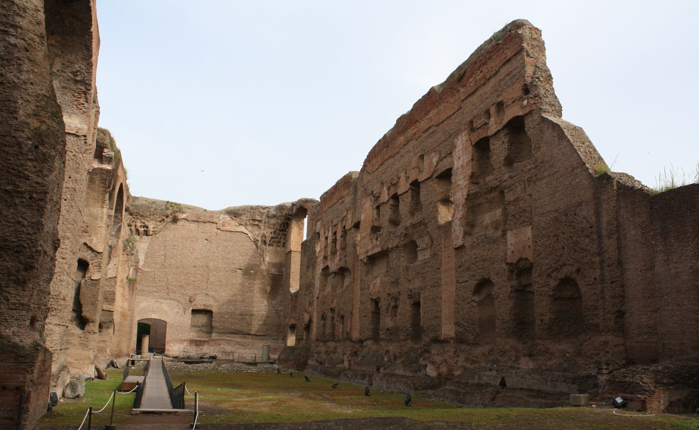 Baths of Caracalla Tour – Rome 03
