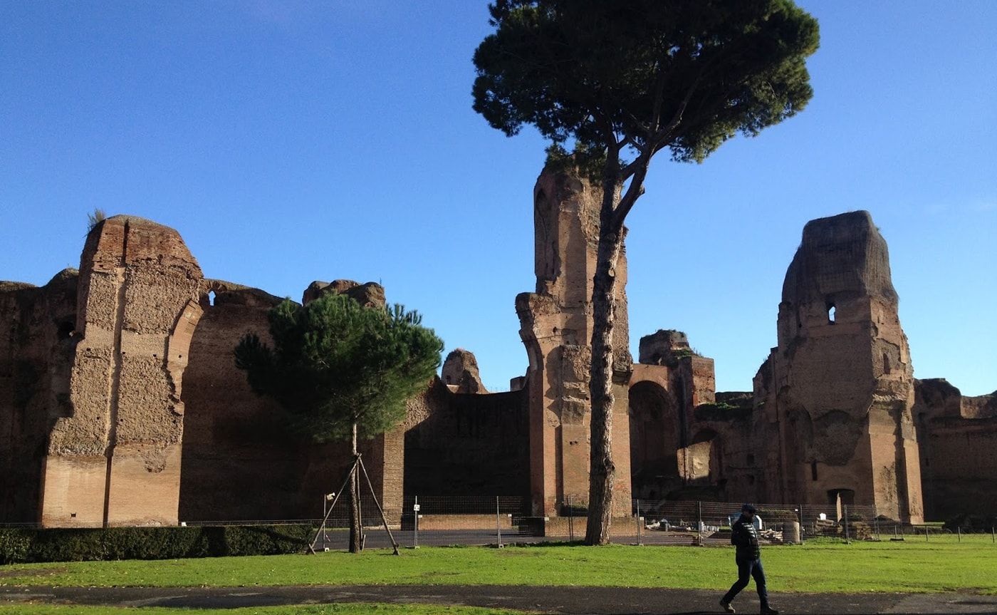 Baths of Caracalla Tour – Rome 04