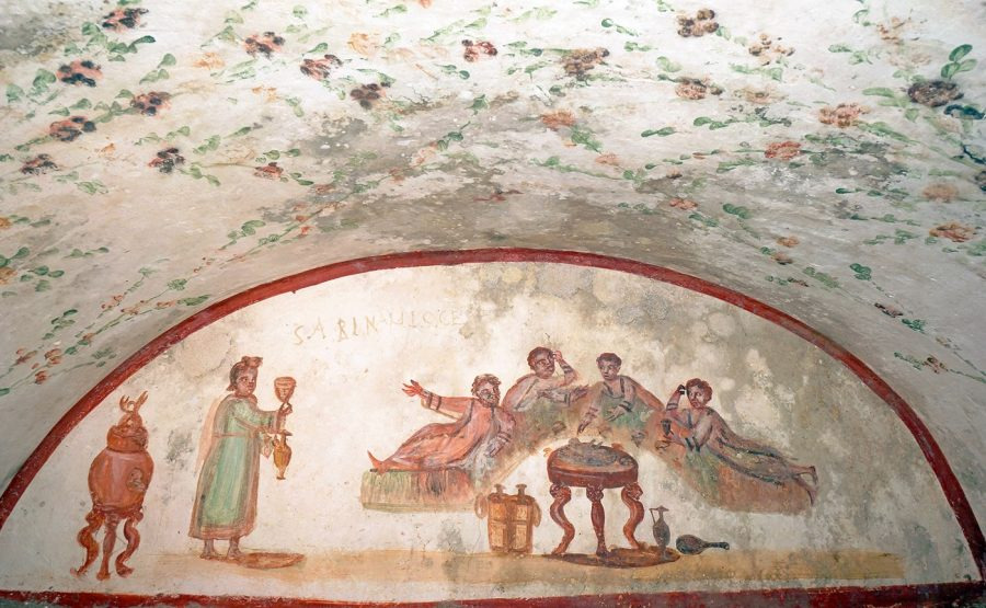CATACOMB OF SAINT PETER AND SAINT MARCELLINUS TOUR - ROME