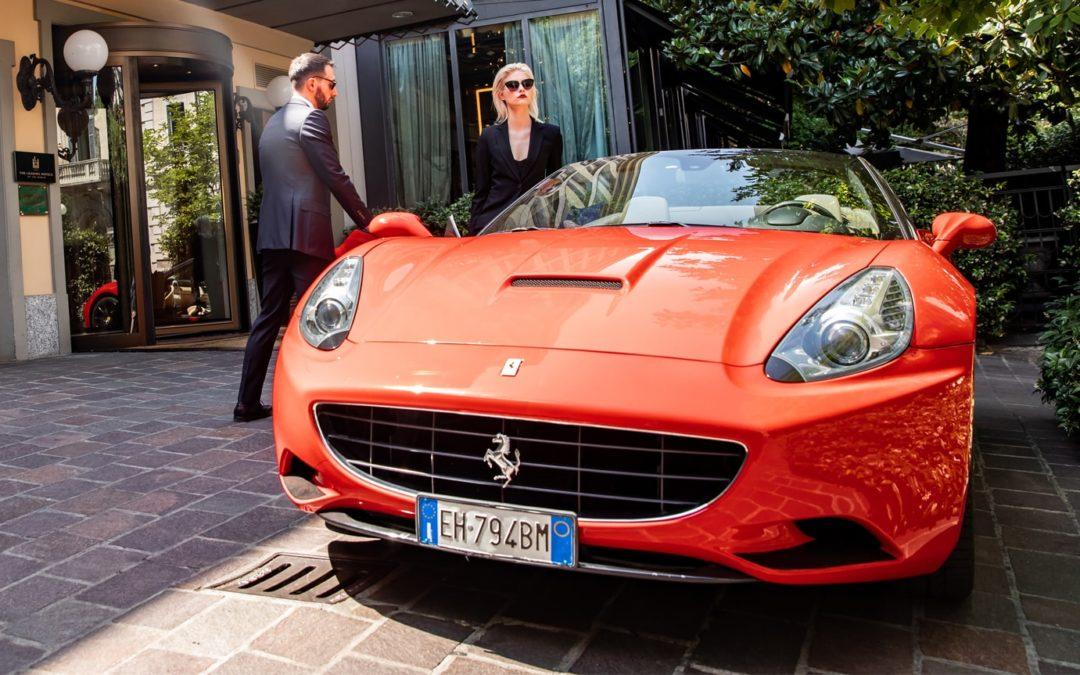 Ferrari Ride in Rome