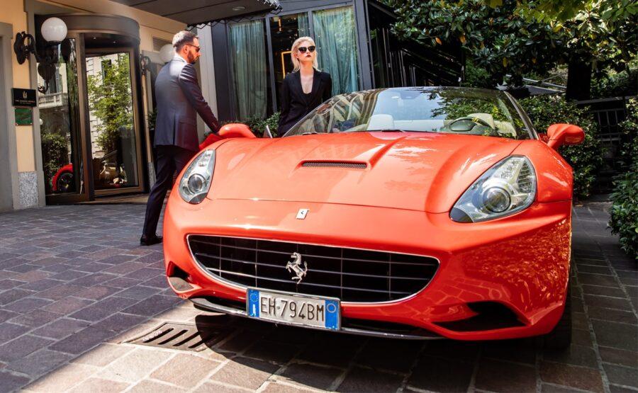 Ferrari Ride in Rome 01