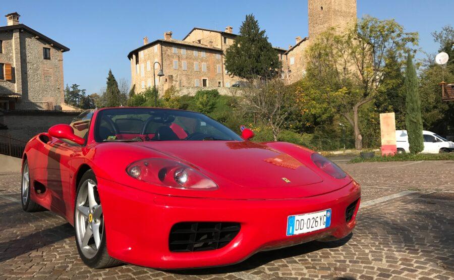 Ferrari Ride in Rome 02