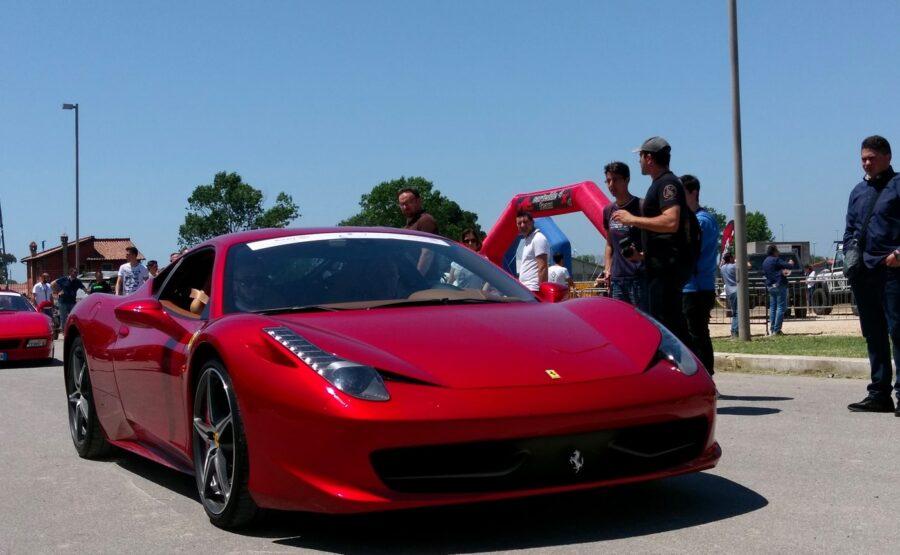 Ferrari Ride in Rome 03