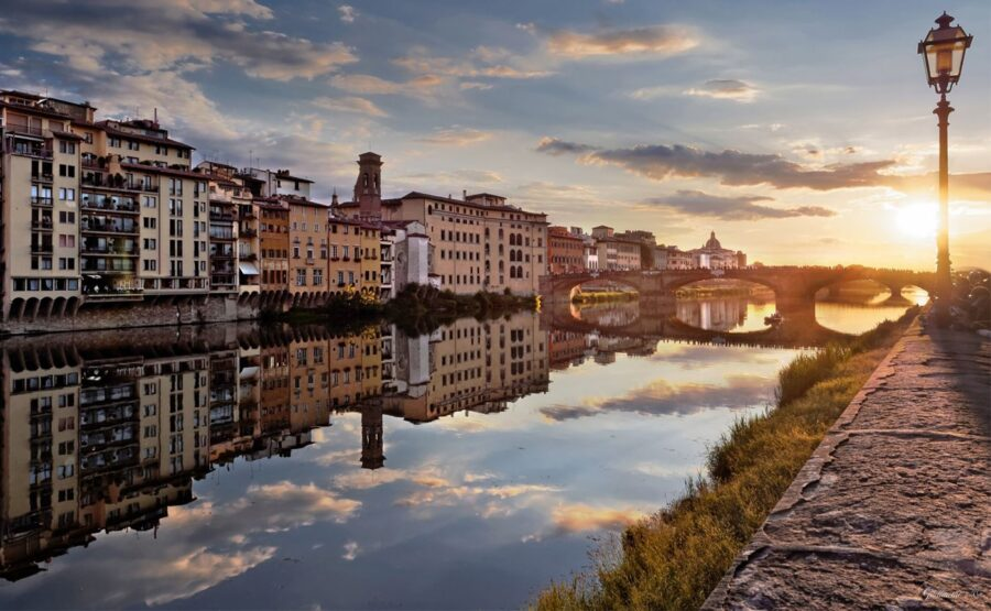 """""""Florence seen by the Arno"""" Tour 02-min"""