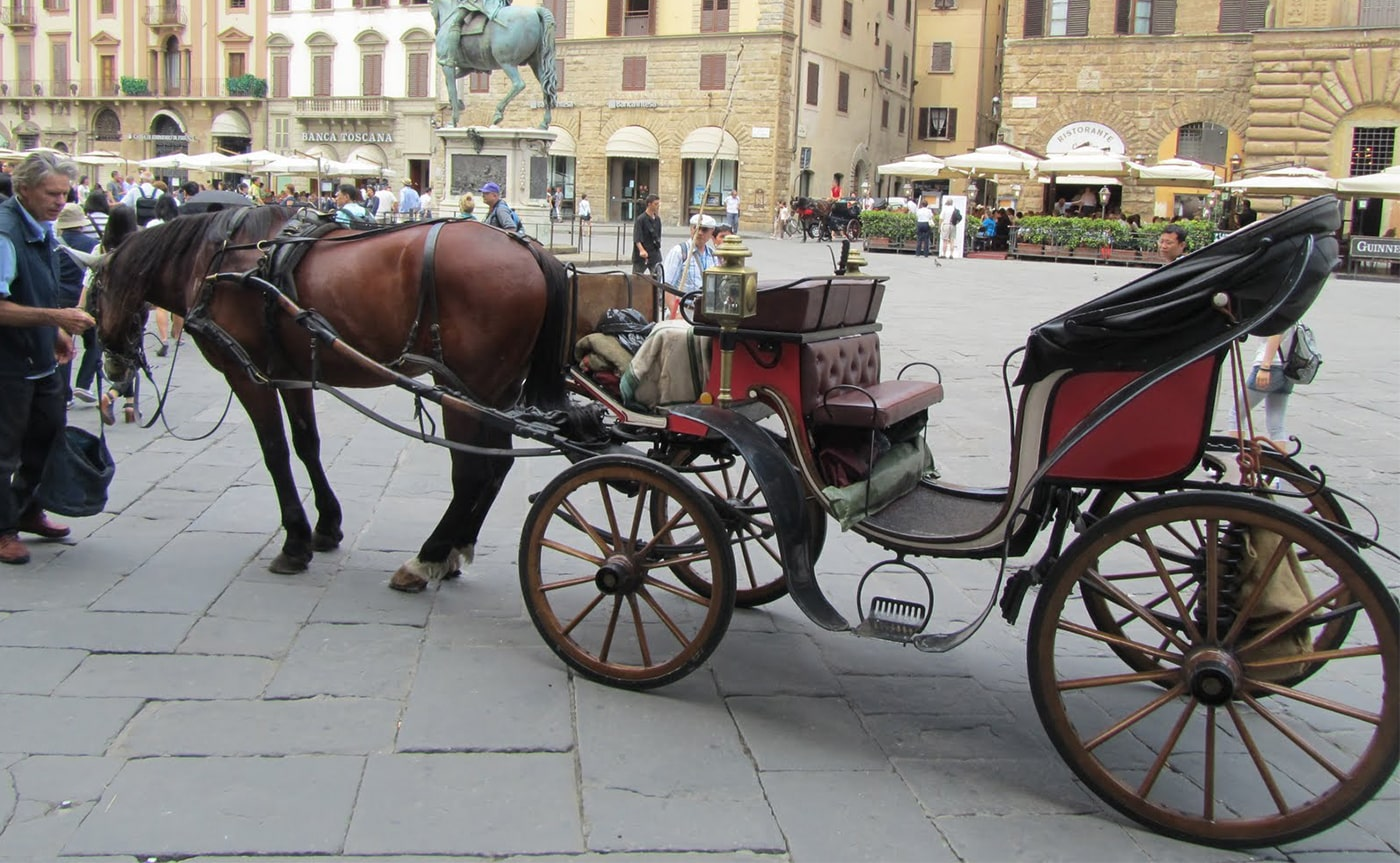 Horse Carriage Tour – Florence 01-min