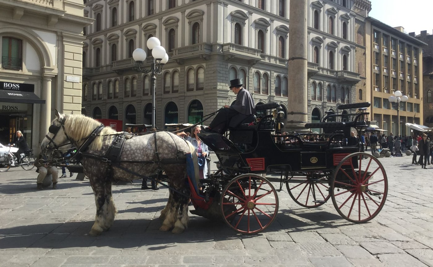 Horse Carriage Tour – Florence 03-min