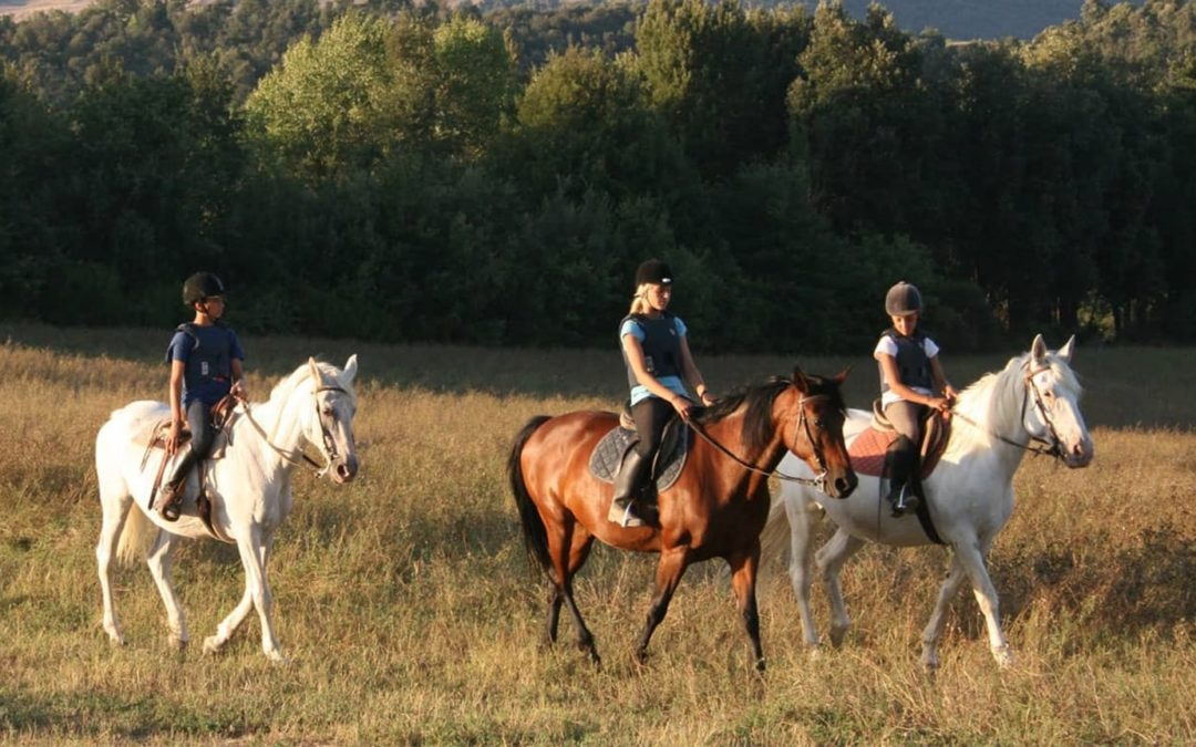 HORSE RIDING IN TUSCANY FOR KIDS – TUSCANY