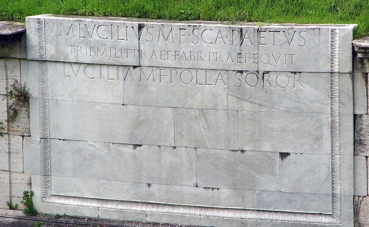 Mausoleum of Lucilius Peto – Underground Rome 01