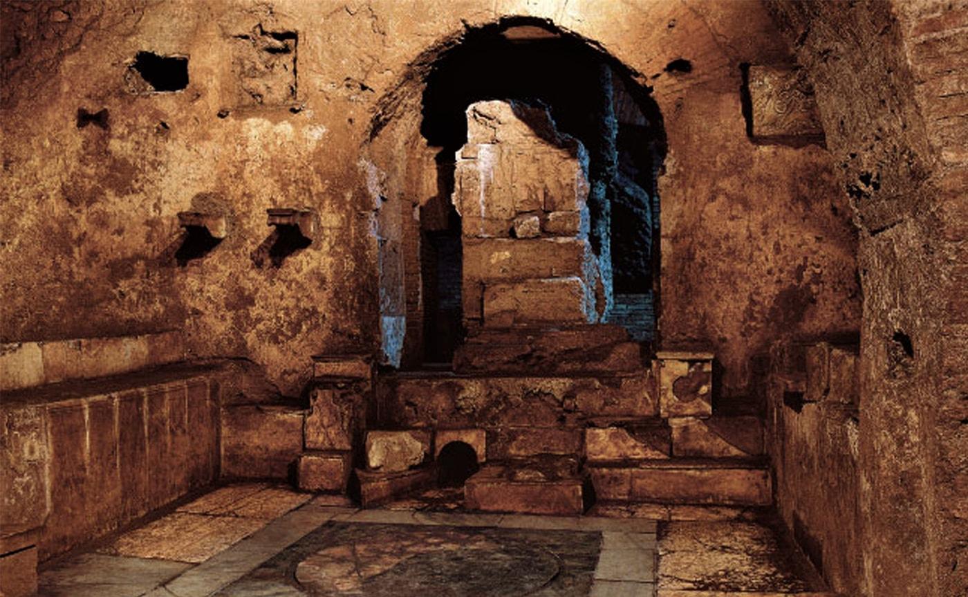 Mithraeum of Circus Maximus – Underground Rome 01-min