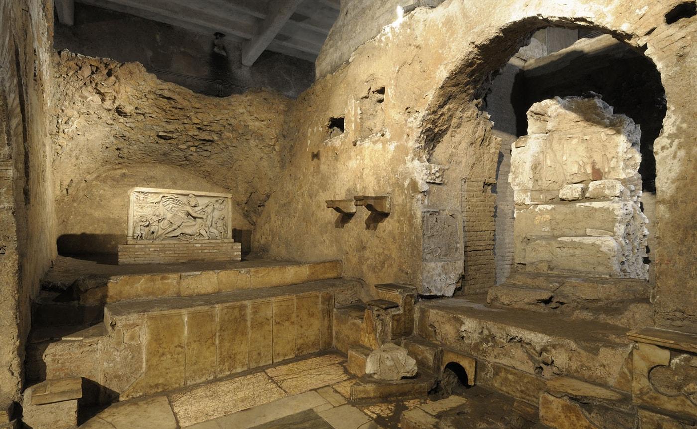 Mithraeum of Circus Maximus – Underground Rome 02-min