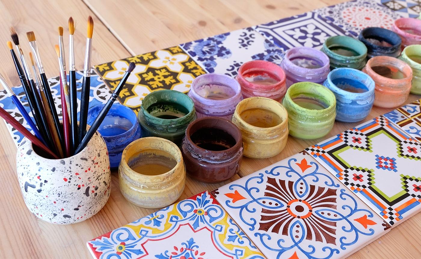Real Flower Painting Workshop 04