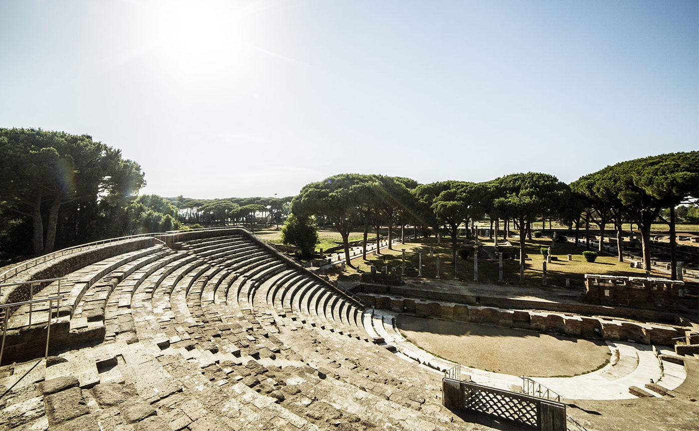 Tour of Ancient Ostia – Rome 02-min