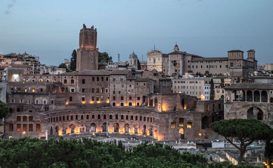 TRAJAN'S MARKETS TOUR - ROME