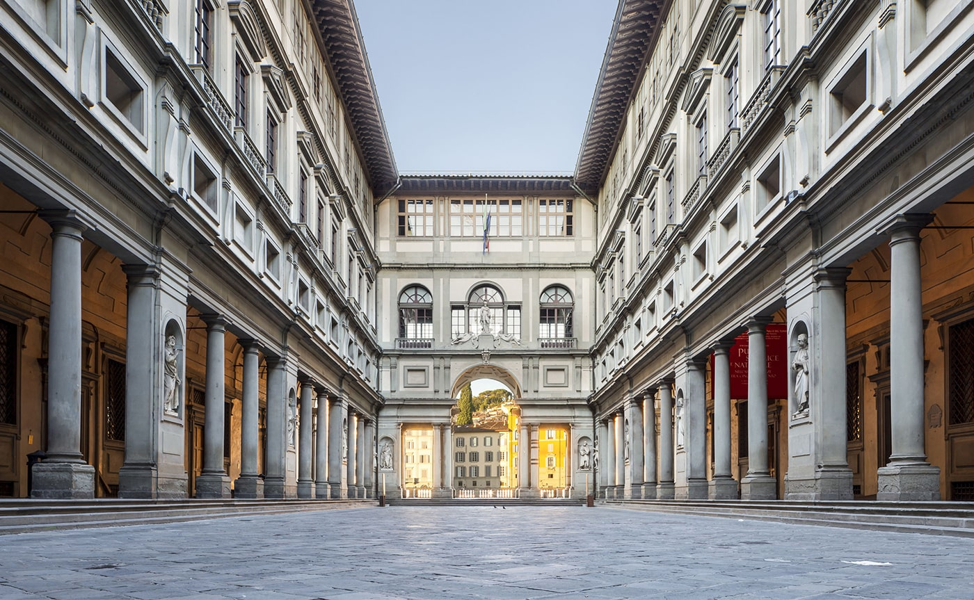 Walking Tour Uffizi