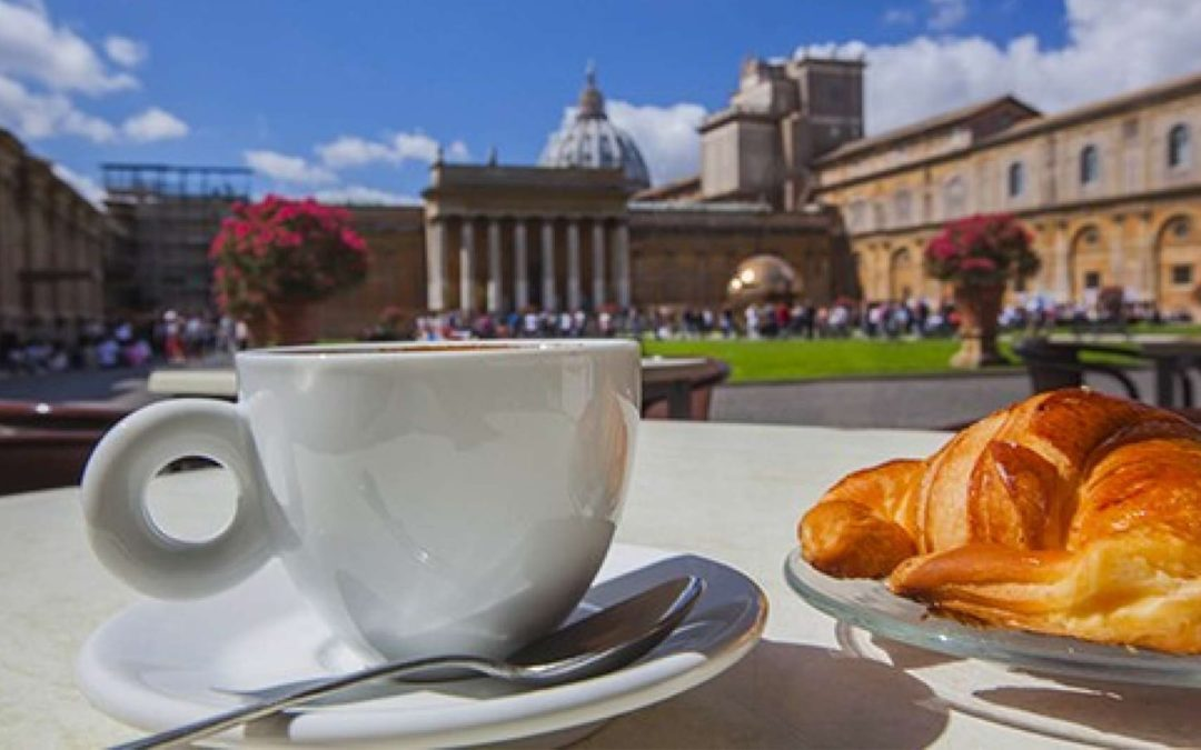 Breakfast at the Vatican Museums