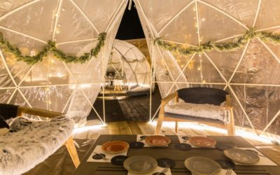 Igloo Garden, the north pole in Rome