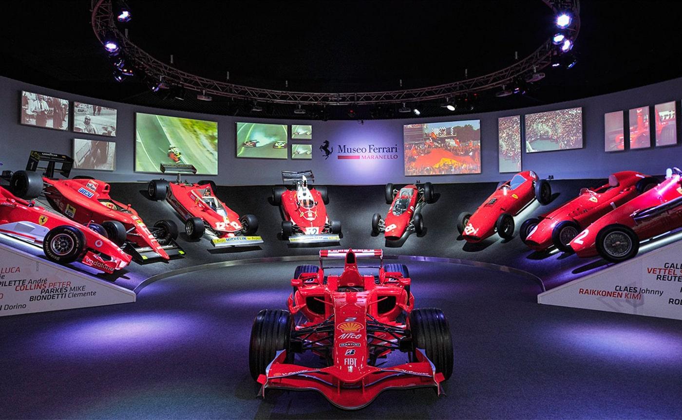 Ferrari Museum – Maranello 01-min
