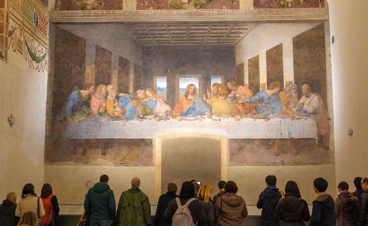 The Last Supper of Leonardo Da Vinci Tour – Milan 02-min