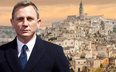 """""""No time to die"""": the new James Bond's film shot in Matera"""