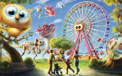LUNEUR – the oldest amusement park in Italy celebrates Carnival for your kids!