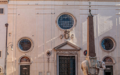 The re-opening of the Basilica of Saint Mary upon Minerva!