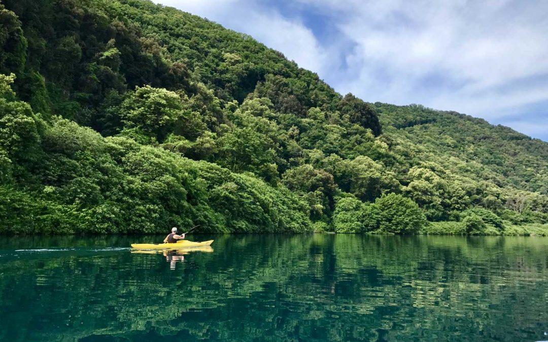 Vivi un'esperienza rilassante e unica sul lago di Albano: tour in kayak e degustazione enogastronomica
