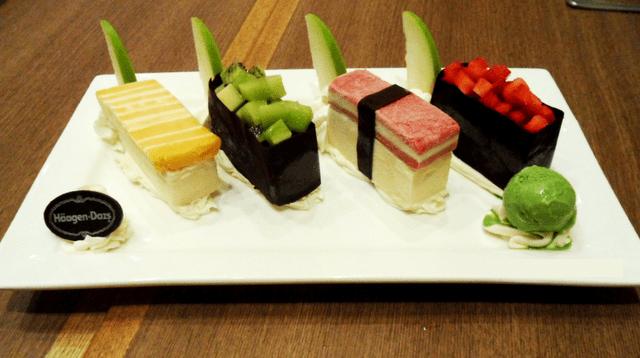 sushi ice-cream