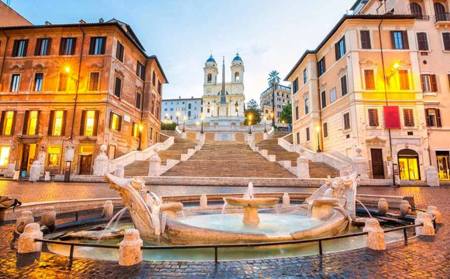 Best of Italy package_Spagna square_Rome