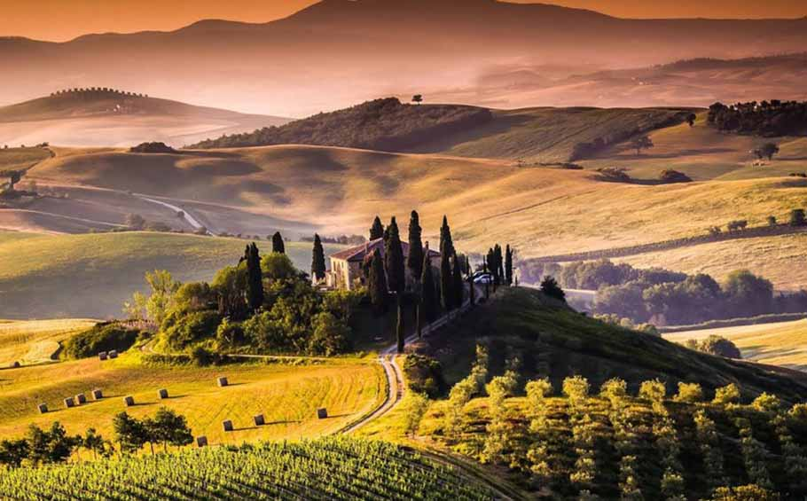 Organic tour of Tuscany package