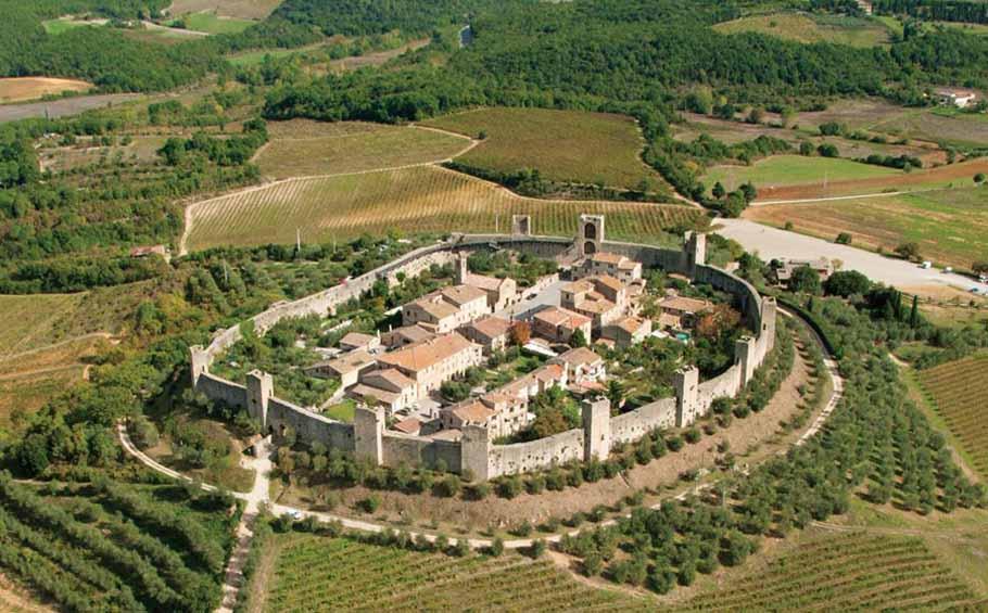 Organic tour of Tuscany_Monteriggioni