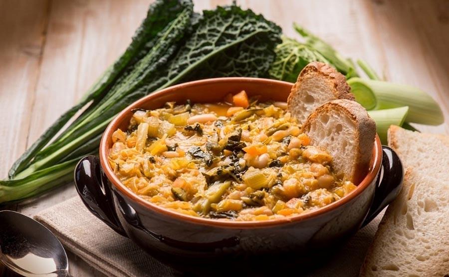 ITALIAN FOOD TASTING TOUR - TUSCANY ribollita