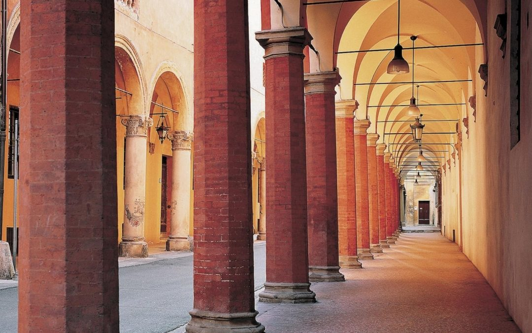 The porticoes of Bologna become a world heritage site by UNESCO