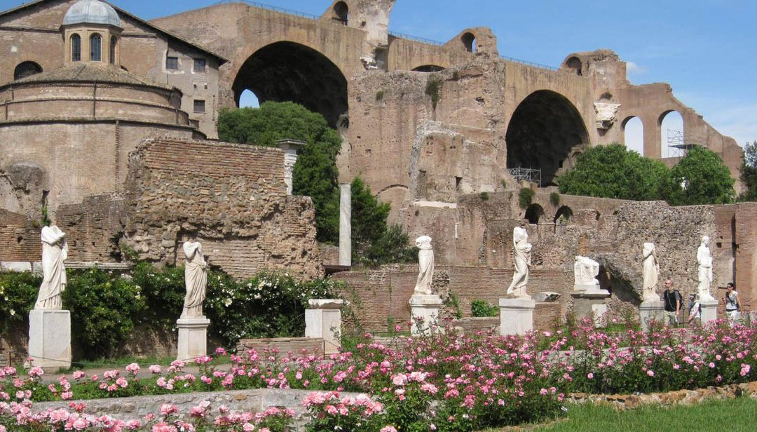 Rome, the house of Vestal reopens inside the Roman Forum