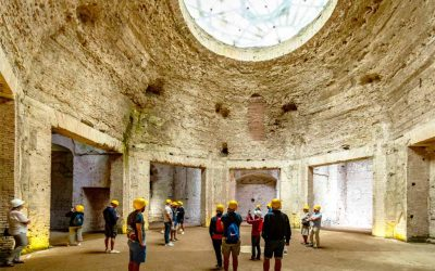 Re-opening of Domus Aurea with Raphael exhibition in Rome