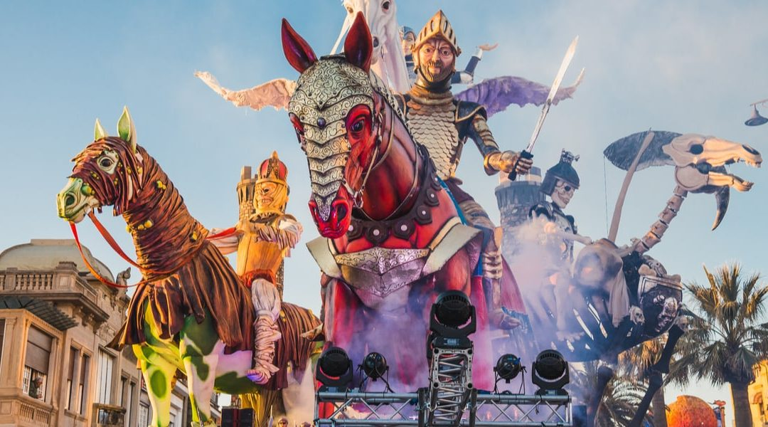 VIAREGGIO'S CARNIVAL: Change the usually dates! This year 2021 from September 19t until October 9th